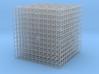 10 cm cube 3d printed