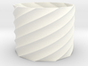 20mm Tall Spiral Vase (Economical) 3d printed