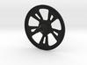 Chrome Wheel 3d printed