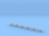 1/700 IL-28 Beagle Bomber (x12) 3d printed