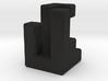 Triaxial piece (2cm) 3d printed