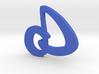 dD Logo 3d printed