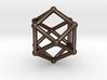 Cuboctahedron 3d printed