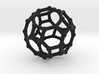 Truncated cuboctahedron 3d printed