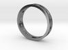 Morse Code Ring 3d printed
