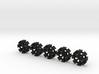 Cargo Rings x5 3d printed