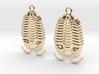 Trilobites Earrings 3d printed