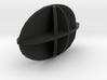 Biaxial Negative 3d printed