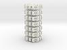 #-buttons for collar shirt - 7pcs. 3d printed