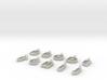 9-10 Char Glass Charm 3d printed