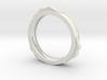 mustache bracelet hollow 3d printed