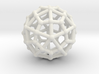 Deltoidal hexecontahedron 3d printed