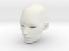 1:6th female head 3d printed