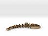Fishbone Pendant 3d printed