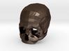 3D Printed Skull Brooch 3d printed