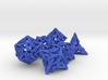Pinwheel Dice Set 3d printed
