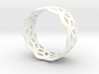 geometric ring 5 3d printed
