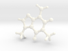 Caffeine Molecule Model Small 3d printed