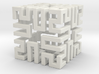 Springy Cube 3d printed