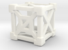 Cage 6-Sided Die - Empty 3d printed