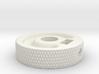MIJ JM/Jag Roller knob - Diamond pattern 3d printed