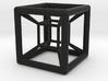 4D Hyper Cube Shadow 3d printed