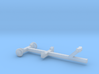 Pleasure Boat Trailer - Z scale  3d printed