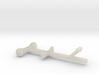 Pleasure Boat Trailer - Z scale  3d printed