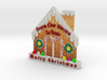Gingerbread House  3d printed