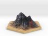 Catan_volcano_hex 3d printed