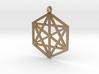 Pendant Hexagram 3d printed