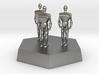 three 11mm troopers 3d printed
