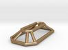 Wireframe Gem Pendant 3d printed
