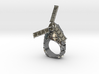Windmill Ring 3d printed