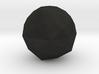 Disdyakis Triacontahedron 3d printed
