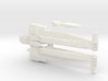 Wedge Super Carrier W/ Crystal Cannon 3d printed