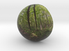 sphere panorama 4, opening 3d printed