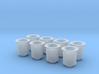 1/8 Short Weber Velocity Stacks 3d printed