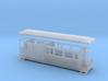 OO9 Tramway bogie brake coach 3d printed