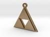 Zelda Triforce Pendant 3d printed