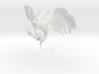 winged cat 3d printed
