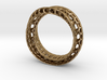 Twisted Bond Ring 3d printed