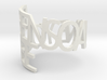 Ring Poem Been so alone 3d printed