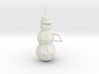 Snow Man Ornament 3d printed