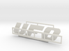 "Logo ""UFO"" für 1:87 (H0 scale) 3d printed"