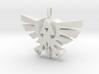 Hyrule Triforce Charm 3d printed