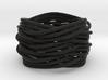 Turk's Head Knot Ring 6 Part X 3 Bight - Size 7 3d printed