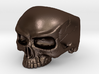 Ring HalfSkull Size 9.5 3d printed