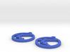 Transistor Symbol Earrings for Electrical Engineer 3d printed