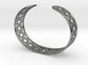Intricate Geometric Pattern Cuff Bracelet 3d printed